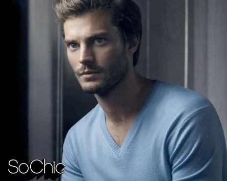 Jamie in a light blue shirt<3
