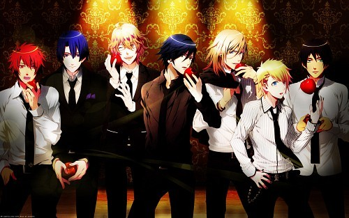 Uta No Prince Sama since it is filled with hot guys who can actually sing and also I would love to go to a special musical boarding school with the chance of becoming an idol .