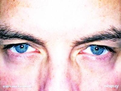 John's eyes *_______*