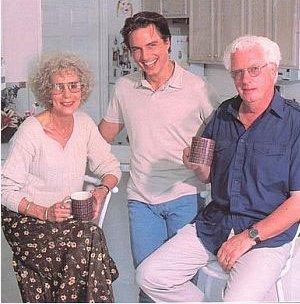 John and his mum and dad<33