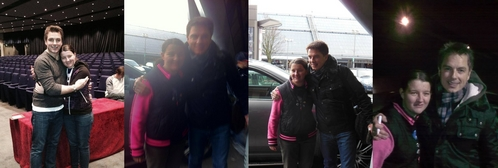 """Well these pictures are the happiest moments in my life..They are the moments when I was with my everything! He will never be just another """"celebrity"""" to me. He will always be my saver, my idol, my inspiration, my EVERYTHING<3 Thank 你 John Barrowman!"""