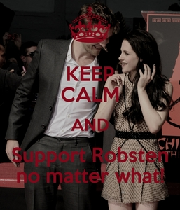 I 愛 and support both Robert AND Kristen as individuals and as a couple and I ALWAYS WILL NO MATTER WHAT!!!<3