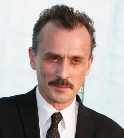 Robert Knepper with a mustache! :D He's so cute and fatherly with a mustache and that's totally not a weird thing to say, even though I think he's hot, too!! <3