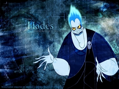 Baboom. The name is Hades, lord of the dead. Hi, how ya doing?