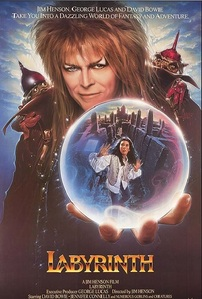 I have a lot of Movies, that I Cinta Ever so Dearly. But I figured I'd used this one to answer the question. The other one I was thinking of was: The Phantom Of The Opera starring Gerad Butler. So Labyrinth starring David Bowie is going to be my Answer for this question.