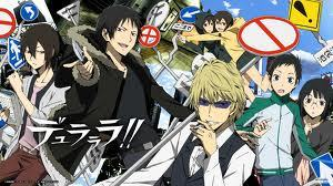 No one put Durarara yet? It's a really good mystery series!