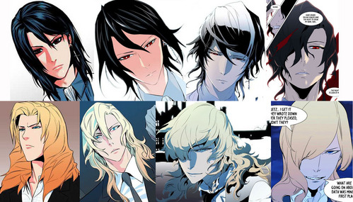 Noblesse! I've grown fond of all the styles...If it ever gets an anime, I hope they use all of the styles. Raizel was hotter at the begining, Frankenstein is hotter now, the Raizel Knights were hotter in the middle seasons....
