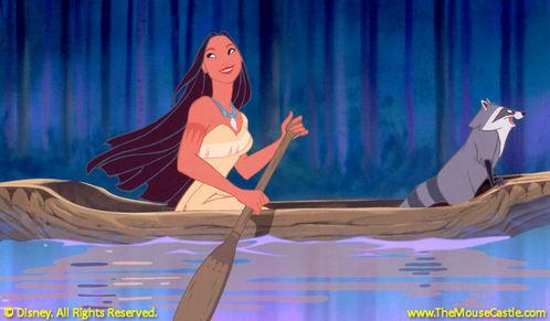 Pocahontas! Best non-princessy princess :D