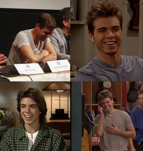 4 cute pics of Matthew laughing :)