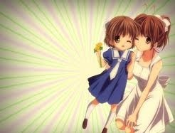 Nagisa or Ushio from Clannad, but they ?relive? I don't know a word for it lol ;)