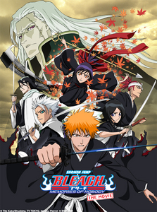 Bleach The Movie: Memories of Nobody The Diamond Dust Rebellion Fade to Black The Hell Verse This is my most favorit anime Movie!!!!