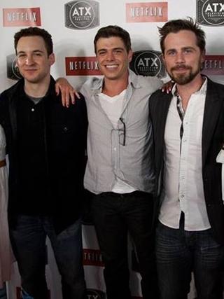 Matt with 2 of his co stars :)