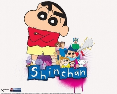 How about Shin Chan? Shin, the main character of the series and from what I can tell, seems to fit all of the above criteria u mentioned including never shutting up and freaking everyone out