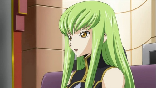 Anime Characters With Green Hair : Post a picture of an anime character with green hair