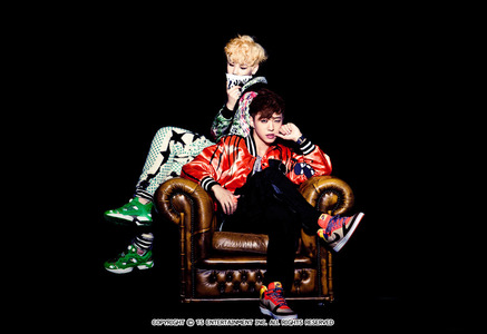 My fav members is the two rappers Zelo and Bang. My main bias Zelo. Zelo is the giant cute baby and maknae. He voice, rap and dance awesome. Bang voice is very cool. He is very good lader. They are the best. And Zelo is the best boy rapper. They are awesome in Bang&Zelo also.