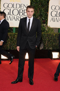 my gorgeous babe on the red carpet at the GG<3