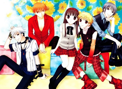 Reverse Harems - Ameisia,Uta no Prince-Sama,Vampire Knight. Romantic Comedy - Ouran High School Host Club,Fruits Basket,Okami-San and her Seven Companions