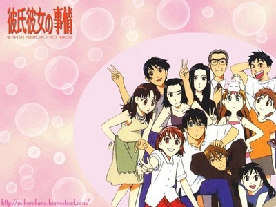 It's really obscure, but I really enjoyed His and Her Circumstances (a.k.a. Kare Kano). It's just a really simple, cute, romantic comedy about a guy and a girl~