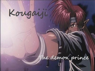 Saiyuki has this demon prince named Kougaiji