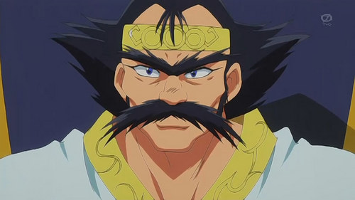 Philionel El Di Saillune from Slayers; the crowned prince of Saillune.He's hideous & yet has 2 daughters; Amelia & Naga the Serpent. He's a widower. His dad's still alive, so he didn't get to be king.