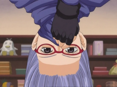 Sacchan from 銀魂 X3 The 上, ページのトップへ ninja of the oniwabanshu always stalking Gintoki but no matter how great of a ninja she is Gin-chan can always spot her XD