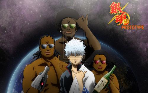 Kanemaru, Furuhashi and Ikezawa... The yorozuya prototype XD