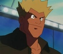 If I recall correctly Matis-san (Lt. Surge in the english dub) from Pokemon is.