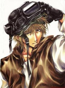 definitely genjo sanzo from saiyuki!!! the most coolest character!! mysterious!!