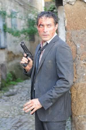 Poor hurt Rufus.<3 But he's ok he has a gun. XD
