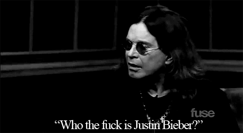 The Great Ozzy Osbourne sinabi it best: