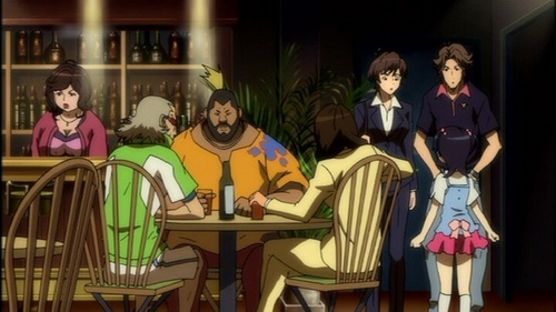 How about this one? Masane and her family and Friends from Witchblade