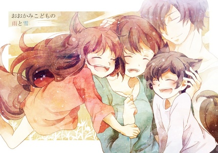 Ookami Kodomo no Ame to Yuki was really sad, I cried so much