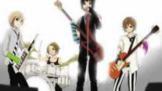 I would put this in there. There Boy characters in K-On!. There not in the 日本动漫 as far as i know. But I would have Azusa Nakano older. That way she could be in college with the rest of the HTT band members. And these guys could i guess take over in the light 音乐 club. I don't know if this would work. But its all i could come up with for now. But see they even play instruments like Yui Harasawa,Mio Akiyama,Tsmugi Kotobuki,Ritsu Takanaka and Azusa Nakano do. Than K-On! could be focused on mainly HTT and in college. And some few scenes with the new Light 音乐 club members. And yes i want Azusa with (HTT!) as well.