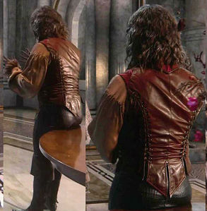 Bobby in Once Upon a Time - respect him for his courage to wear this leather pants - it kills me ♥