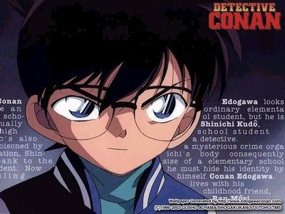 Conan Edogawa from Detective Conan and Colonello from KHR!
