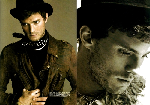 Jamie looking hot in a hat<3
