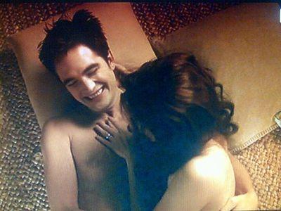 Robert and Kristen BD 2 BTS<3