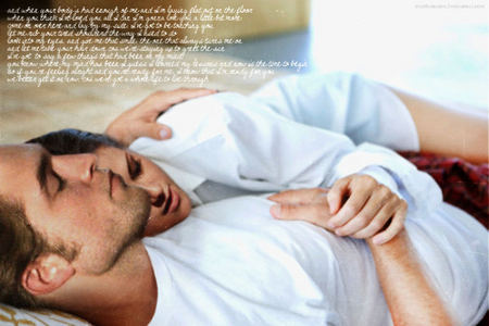 my 2 lovelies lying down<3