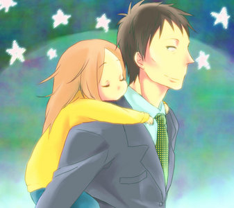 Usagi Drop has to be one of the most heartwarming anime series I've ever seen <3
