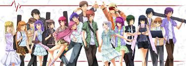 """There are Two, One of which is """"Angel Beats"""" (The Picture has almost nothing to do with the actual anime), Which Is Pretty puso Wrenching... Made Me Cry... And The segundo is """"Welcome to the N.H.K"""" Now If you don't know this anime Sucks to be you, if you do you know what I mean."""