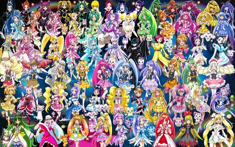 Pretty Cure is my top fav anime! My opinion it's fit for all ages and genders! There are dark moments and fun moments, sad moments and happy moments. Younger kids can enjoy it for it's story while older can find lots of yuri and yaoi moments if they look... Also there are a lot of girls :D