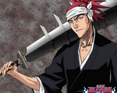 Renji from Bleach. xP I used to be so obsessed with that character. He's still awesome and a favourite actually. *cough*