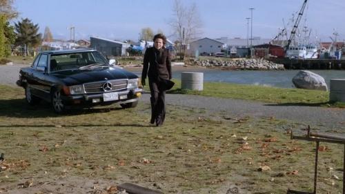 A Mercedes Benz; but not just any Mercedes, Regina's Mercedes!