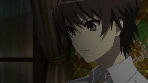 koichi sakakibara almost always goes door his last name,sakakibara...........