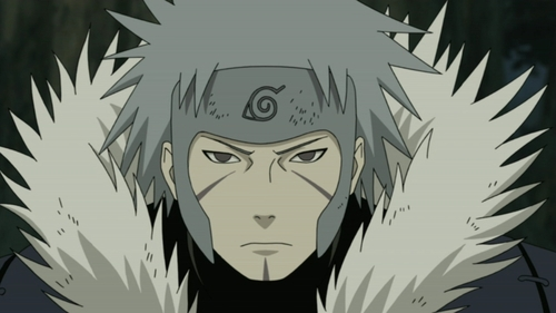 Tobirama Senju / Kabuto Yakushi / Orochimaru (Naruto Shippuden) he can revive the people from the dead using Edo Tensei....... this jutsu was found door Tobirama the 2nd Hokage..but after his death Orochimaru revived this jutsu and later Kabuto learned this jutsu from Orochimaru.....with this Jutsu Kabuto was able to revive Madara uchiha and other dead people and used them for war.........he eh eheh