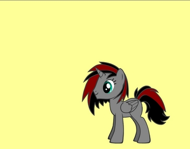 name: Dark_light Gender: male Cutie mark: none Hobbies: enjoys being evil and enjoys messing with weather Personality: playful, enjoys trolling people, enemies with luna fact: super powerful only on tuesdays pic