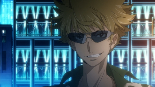 Tsuchimikado Motoharu from To aru majutsu no index ~Hi esper ability is a Level 0 auto-rebirth, whenever e dies he just comes back to life after a while XD