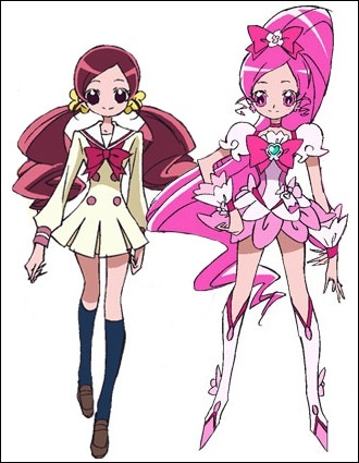 Cure Blossom aka Tsubomi from HeartCatch