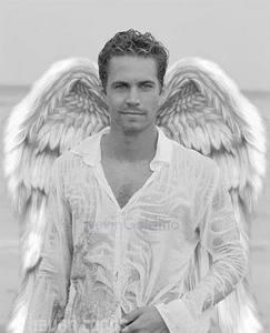 Paul Walker wearing white<3