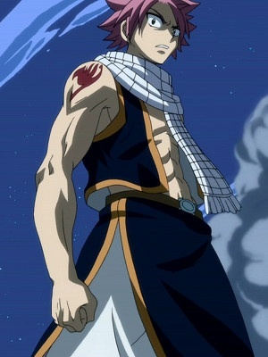 Probably Natsu Dragneel from Fairy Tail.